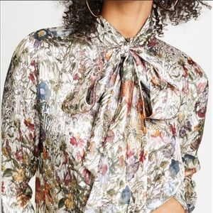 Tory Burch Vanessa Bow Blouse NWT 14